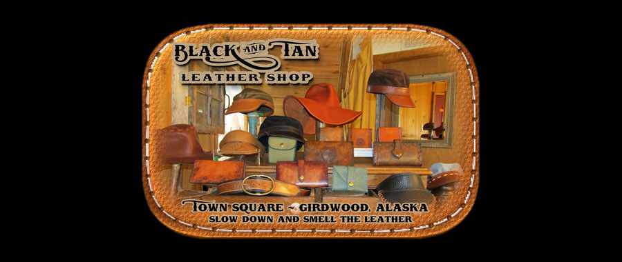 Black and Tan Leather Shop