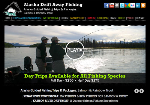 Alaska Drift Away Fishing